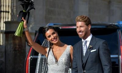 Memorable boda de Sergio Ramos y Pilar Rubio