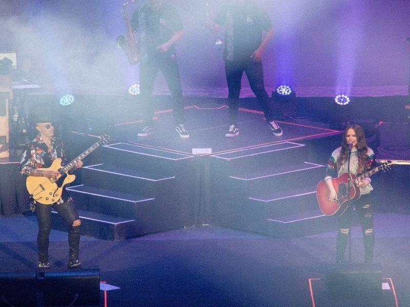 concierto de Jesse y Joy
