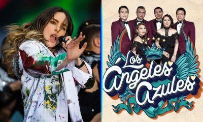 Belinda y 'Los Ángeles Azules'