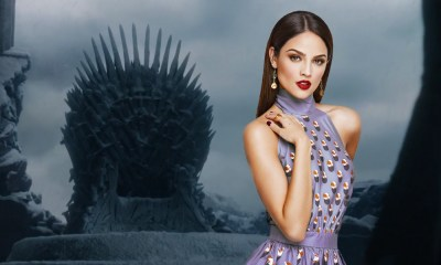 Eiza González y actor de 'Game of Thrones'