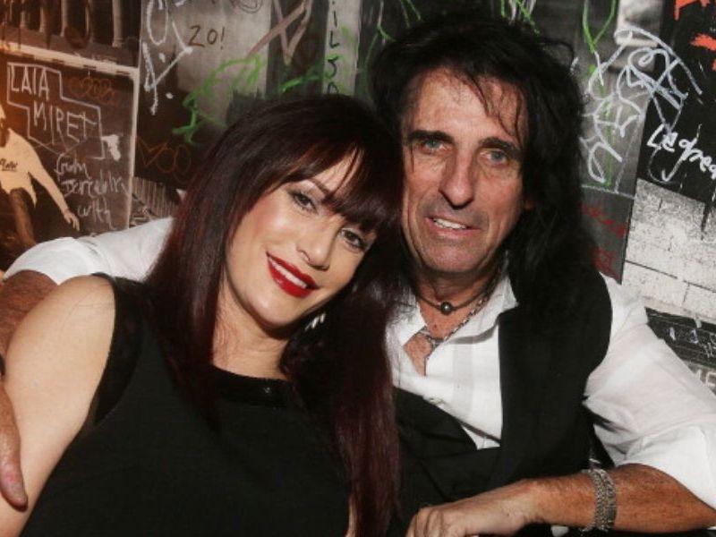 Alice Cooper y su esposa