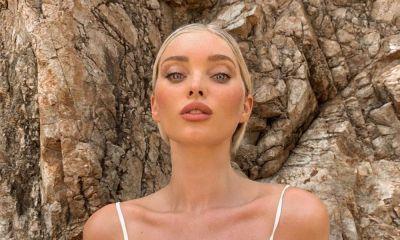 Elsa Hosk posó en playas mexicanas