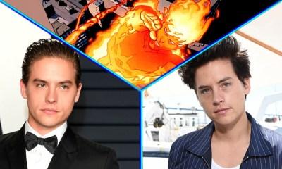 Gemelo de 'Zack y Cody' quiere ser 'Human Torch'