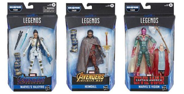 Nueva colección de 'Legends' trae una sopresa: el juguete de 'Thor' gordo Legends-Marvel-2-600x309
