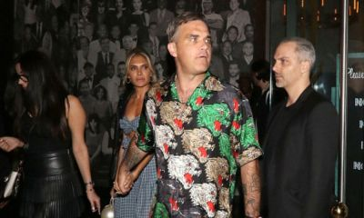 Robbie Williams contrató guardaespaldas