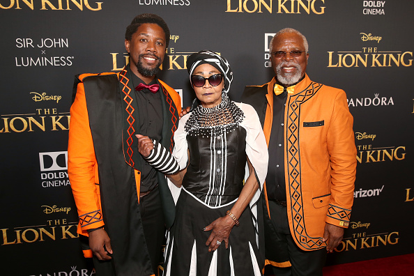 """Desde África"" llega Beyoncé a la premiere de 'The Lion King' gettyimages-1161110780-594x594"