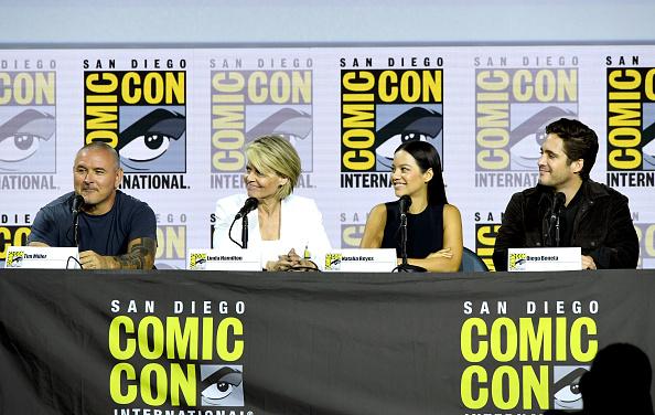 """Director de 'Terminator' se """"burló"""" de Diego Boneta en la Comic-Con gettyimages-1162840704-594x594"""