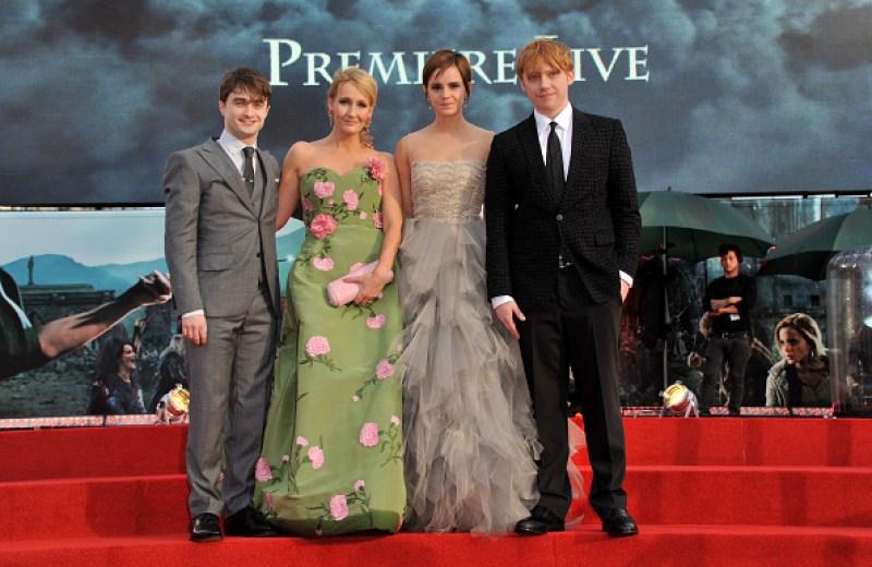 Por su cumpleaños, Emma Watson escribió conmovedor mensaje a J.K. Rowling gettyimages-118421523-594x594