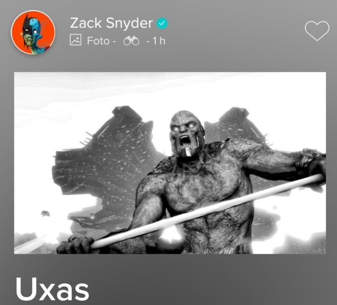 Zack Snyder revela imagen de 'Darkseid' en 'Justice League' zack