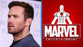 Armie Hammer acusa a Marvel de apoyar a Donald Trump (1)