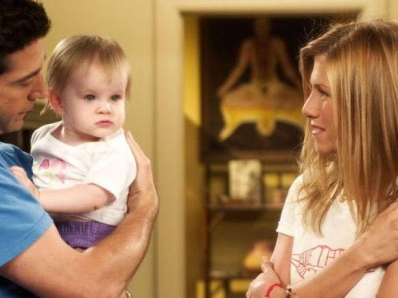 Así se ve la hija de Rachel y Ross