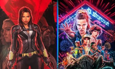 Black Widow y Stranger Things se unen