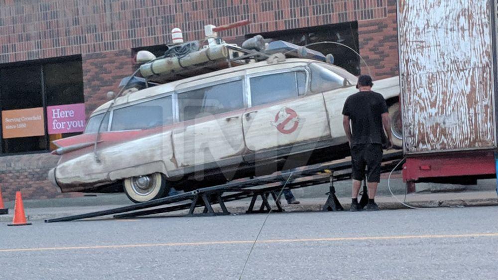 Filtran primeras imágenes de 'Ghostbusters 2020' en el set de grabación Ghostbusters-Sneak-Peek-07