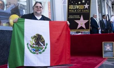 Guillermo del Toro ya tiene estrella en el Paseo de la Fama