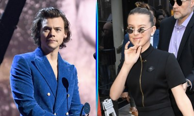 Millie Bobby Brown y Harry Styles