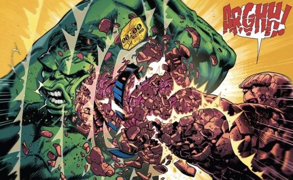 Misterio resuelto: ¿Quién es más fuerte, Hulk o La Mole? The-Thing-Hulk-600x369
