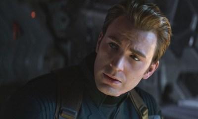 Capitán América con el Guantelete del Infinito