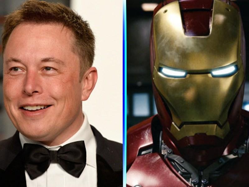 "Elon Musk hizo un ""Iron Man"""