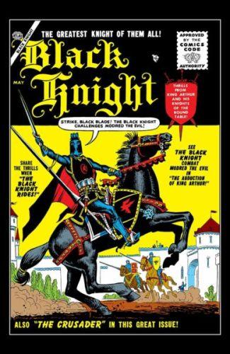 ¿Quién es Black Knight el personaje que interpretará Kit Harington en el MCU? the-black-knight-1-portada-1955-325x500