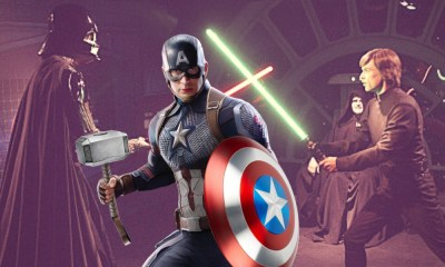 Sables de Star Wars en Avengers