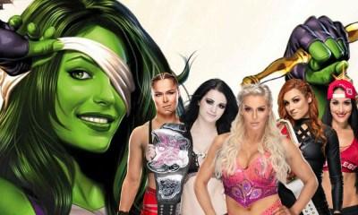 Diva de la WWE podría ser She-Hulk