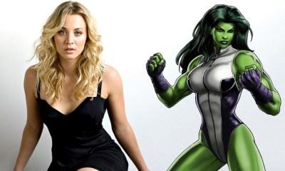 Kaley Cuoco sería la perfecta She-Hulk
