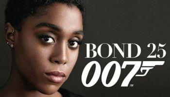 Primeras fotos de Lashana Lynch como la agente 007