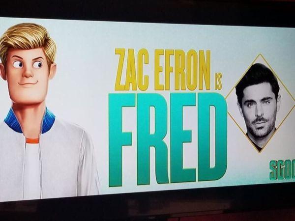 Imágenes revelan como se ve Zac Efron en película de Scooby Doo Scoob-Fred-First-Look-600x450