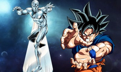 Silver Surfer copió a Goku
