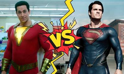 Superman pierde contra Shazam