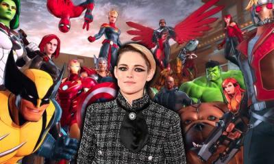 Kristen Stewart como la versión gay de Falcon