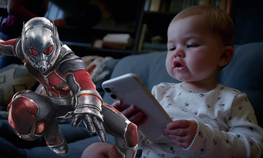 Ant-Man y el iPhone 11