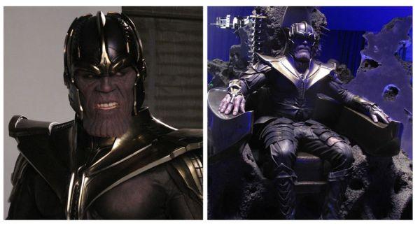 ¿Realmente necesitaba edición? Así luce Thanos sin CGI thanos-detras-de-camaras-2-600x329