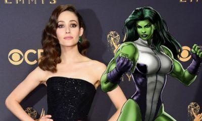 Así luciría Emmy Rossum en la serie 'She Hulk'