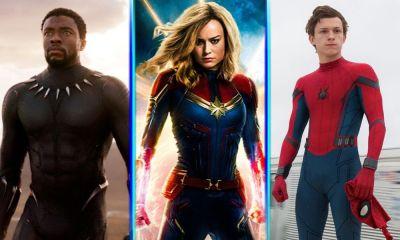 Captain Marvel y Spider-Man líderes de Avengers en la fase 4