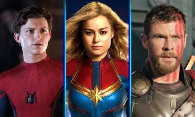 Captain Marvel y Spider-Man tendrían un romance