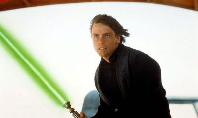 Donde está el sable de Luke