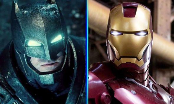 Iron Man y Batman unidos por el elemento Martha
