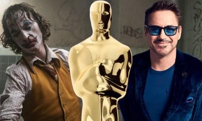 Joker y Iron Man nominados al Oscar