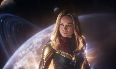 el traje de Captain Marvel de 2023