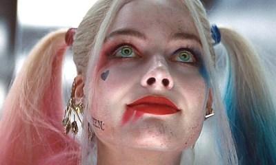 Harley Quinn sin maquillaje