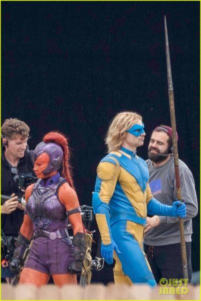 ¿Y Harley? Filtran fotos de los nuevos trajes de 'The Suicide Squad' the-suicide-squad-cast-set-photos-09