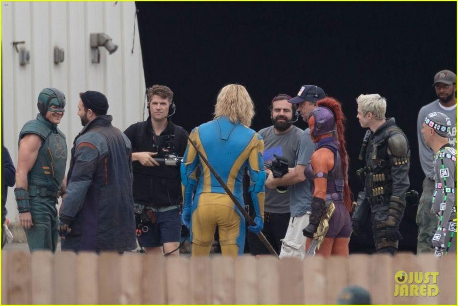 ¿Y Harley? Filtran fotos de los nuevos trajes de 'The Suicide Squad' the-suicide-squad-cast-set-photos-38