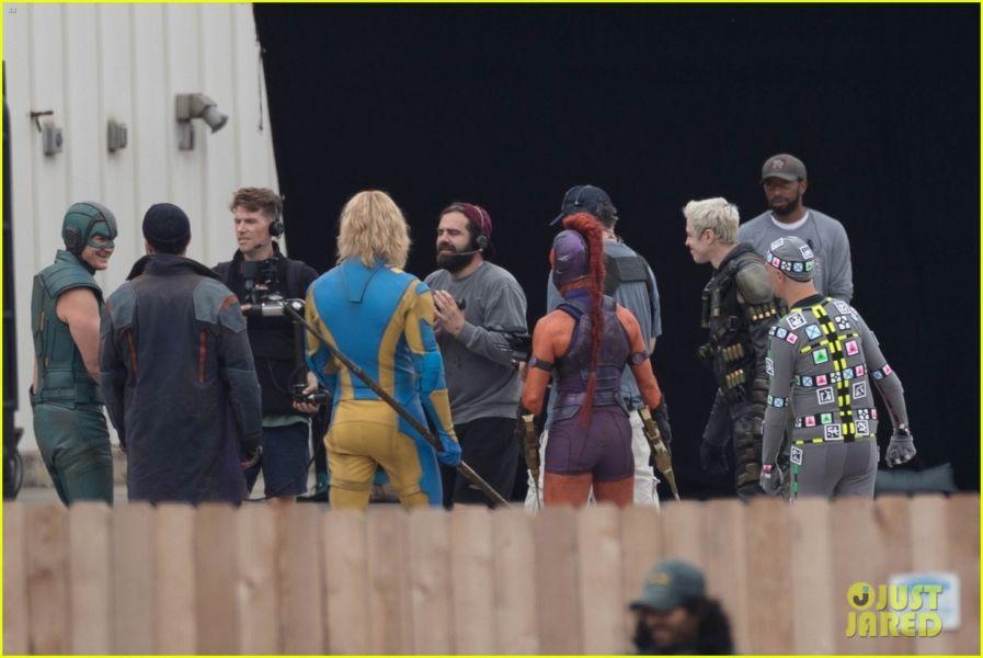 ¿Y Harley? Filtran fotos de los nuevos trajes de 'The Suicide Squad' the-suicide-squad-cast-set-photos-42