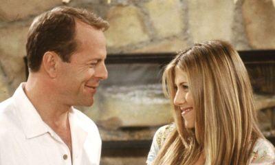 Apuesta de Bruce Willis para aparecer en Friends