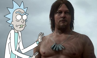 Crossover de 'Death Stranding' y 'Rick and Morty'