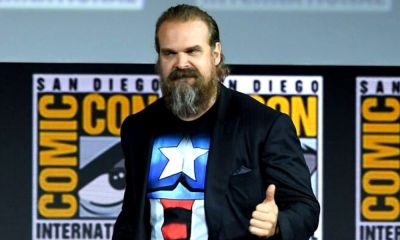 David Harbour como Red Guardian en 'Black Widow'