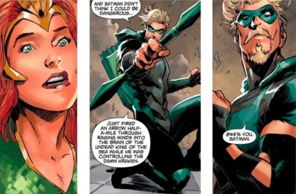 ¿Exceso de confianza? El único héroe que Batman no ha planeado derrotar Green-Arrow-600x393