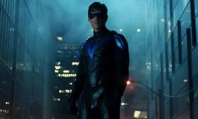 Traje de Nightwing en 'Titans'