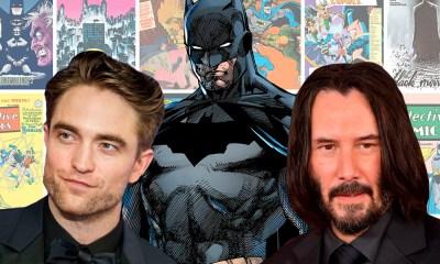 Robert Pattinson entrena para 'The Batman'